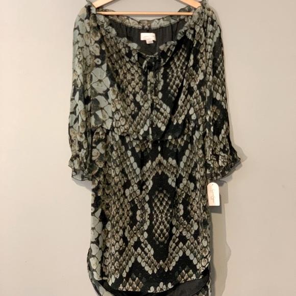 NWT Jessica Simpson Anaconda Dark dress